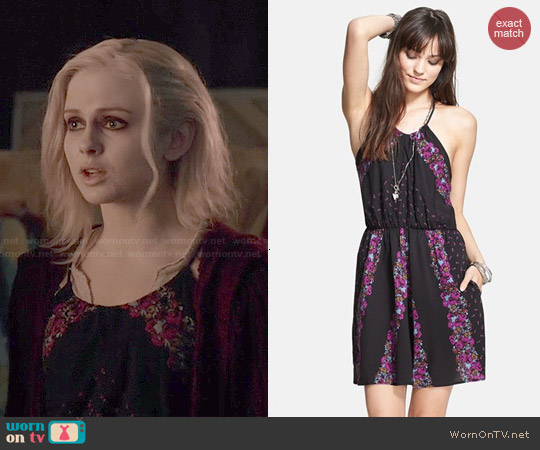 Free People Simona Dress worn by Rose McIver on iZombie