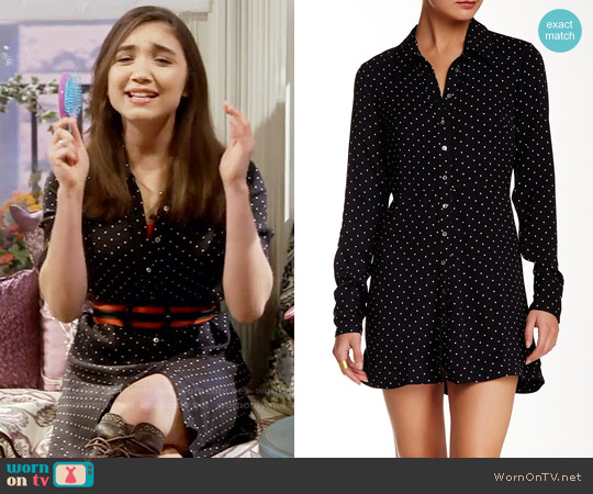 Free People This Town Dress worn by Rowan Blanchard on Girl Meets World