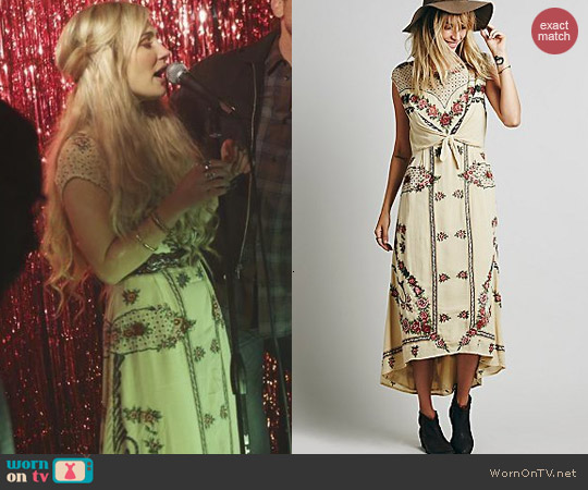 Free People Tie Knot Dress worn by Clare Bowen on Nashville