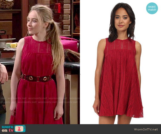 Free People Tu Es La Dress worn by Sabrina Carpenter on Girl Meets World