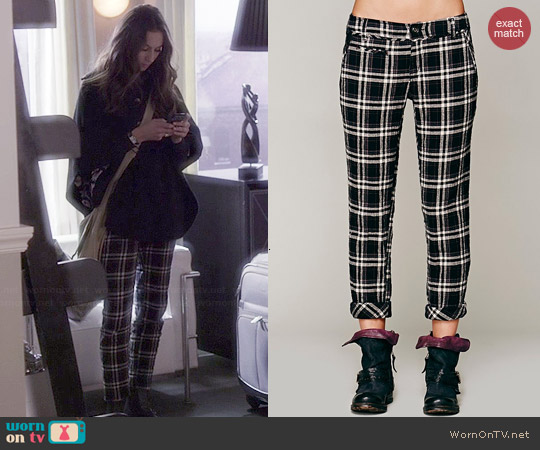 Free People Would Have Been Crinkle Trouser worn by Spencer Hastings on PLL