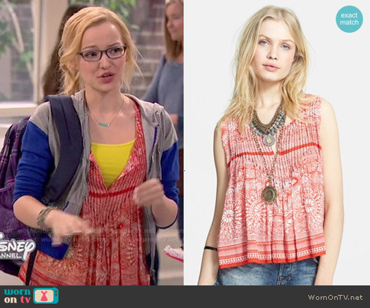 Free People Myna Top worn by Dove Cameron on Liv & Maddie