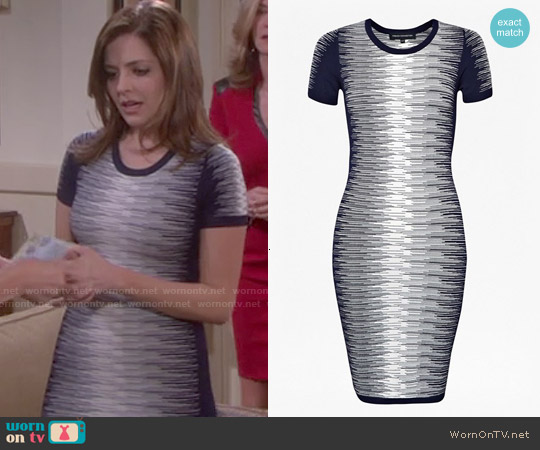 French Connection Danni Degrade Dress worn by Jen Lilley on Days of our Lives