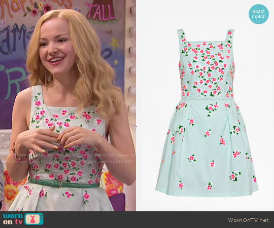 French Connection Ditsy Dorothy Dress worn by Dove Cameron on Liv & Maddie