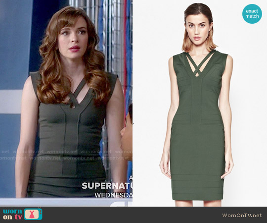French Connection Fast Quinn Dress worn by Danielle Panabaker on The Flash