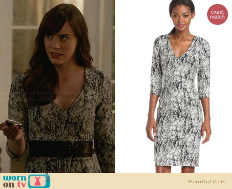 French Connection Misty Fern Dress worn by Christa Allen on Revenge