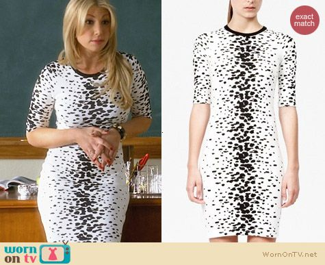 French Connection Ombre Bark Dress worn by Ari Graynor on Bad Teacher