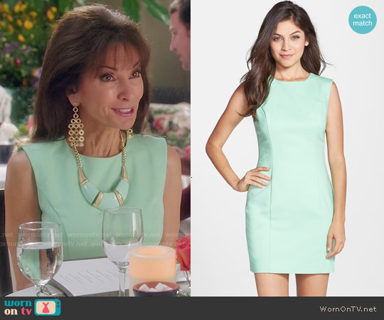 French Connection Mint Mojito Bodycon Dress worn by Susan Lucci on Devious Maids