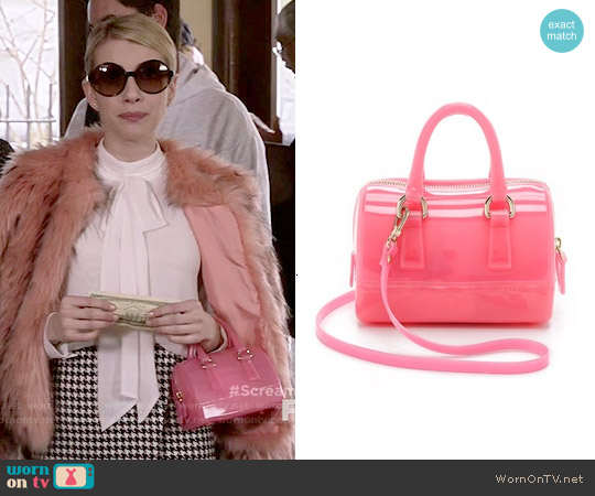 Fulra Candy Sweetie Mini Satchel worn by Chanel Oberlin on Scream Queens