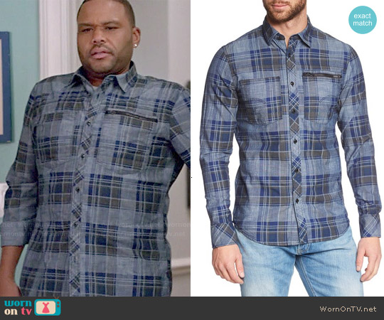 G Star Raw 'Attacc' Shirt worn by Anthony Anderson on Blackish