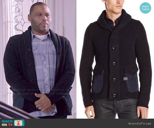 G Star Raw 'Gralvent' Cardigan worn by Andre Johnson on Blackish