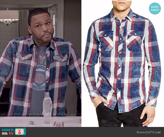 G Star Raw Landoh Shirt worn by Andre Johnson on Blackish