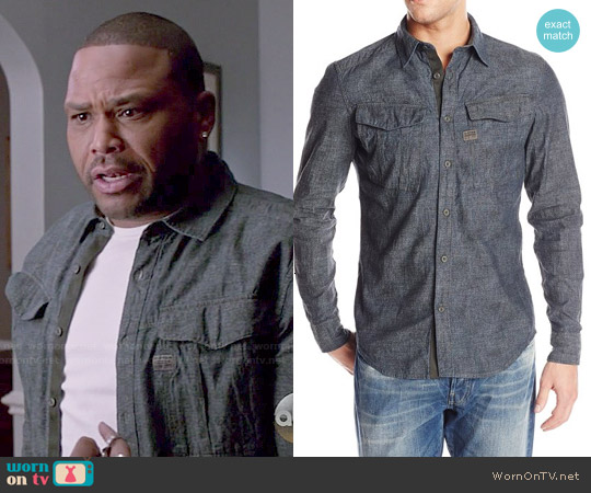 G Star Raw Rovic Shirt worn by Anthony Anderson on Blackish