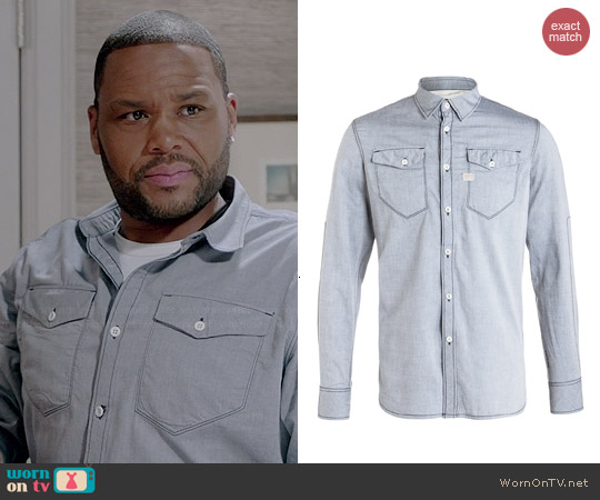 G Star Raw Tacoma Shirt worn by Anthony Anderson on Black-ish