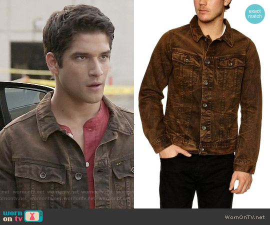 G Star Raw Slim Force Tailor Jacket worn by Tyler Posey on Teen Wolf