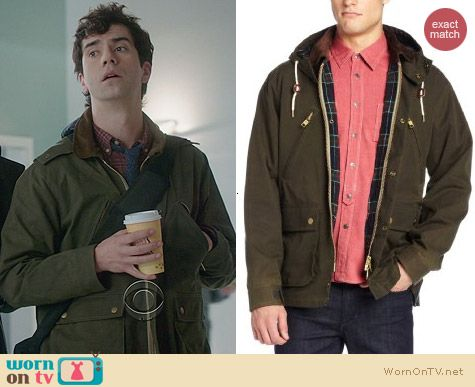 Gant Rugger Wax Your Back Jacket worn by Hamish Linklater