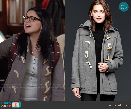Gap Wool Toggle Coat worn by Ariel Winter on Modern Family