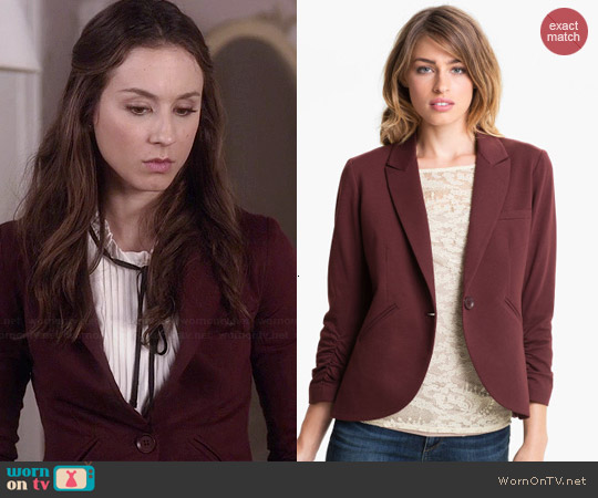 Gibson Equestrian Jacket worn by Spencer Hastings on PLL