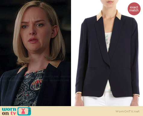 Girl. By Band of Outsiders Cabrini Blazer worn by Jess Weixler on The Good Wife