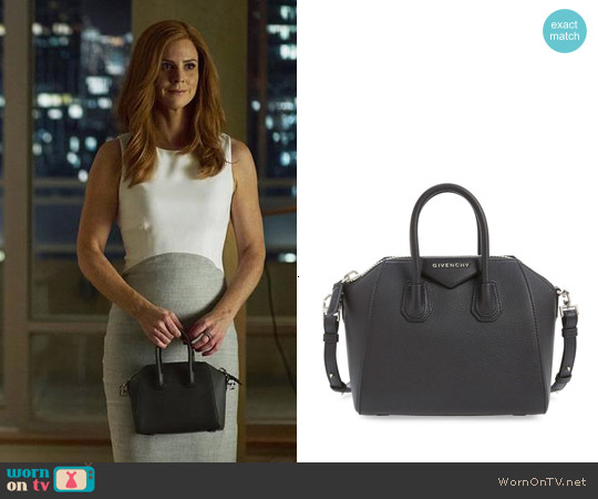 Givenchy 'Mini Antigona' Sugar Leather Satchel worn by Donna Paulsen on Suits