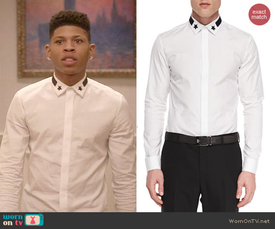 Givenchy Star Detail Shirt worn by Bryshere Y. Gray on Empire