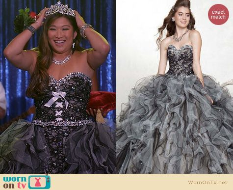 Glee Fashion: Vizcaya 88051 Dress worn by Jenna Ushkowitz