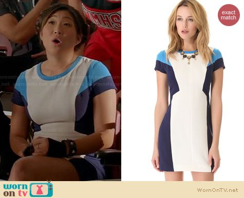 Glee Fashion: Club Monaco Ellie Dress worn by Jenna Ushkowitz