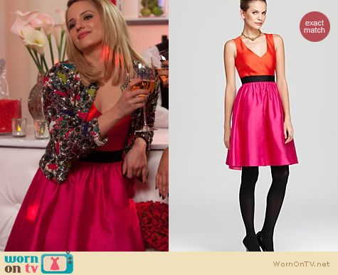 Glee Fashion: Kate Spade Normandy dress worn by Dianna Agron at the wedding