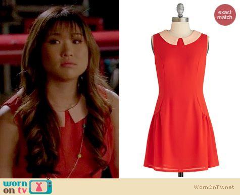 Glee Fashion: ModCloth's Citrus Chic dress worn by Jenna Ushkowitz