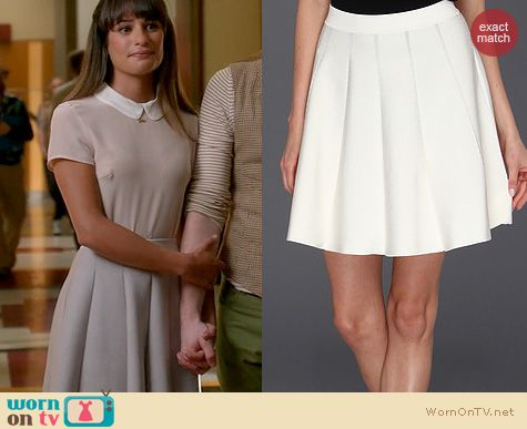 Glee Fashion: Parker Zoey Skirt worn by Lea Michele