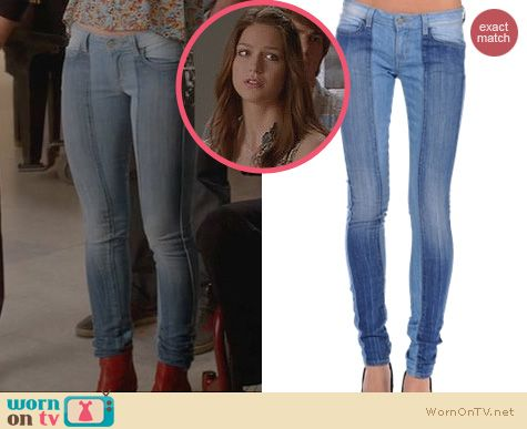 Glee Fashion: Siwy Natasha Jeans worn by Melissa Benoist