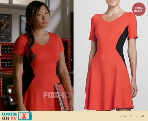 Glee Fashion: Theory Filopa Dress worn by Jenna Ushkowitz