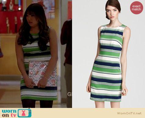 Glee Fashion: Trina Turk Spectator dress worn by Jenna Ushkowitz