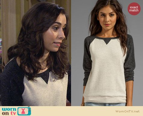 Graham & Spencer Brushed Sweatshirt worn by Cristin Milioti on HIMYM