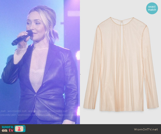 Gucci Net Tulle Top worn by Juliette Barnes on Nashville