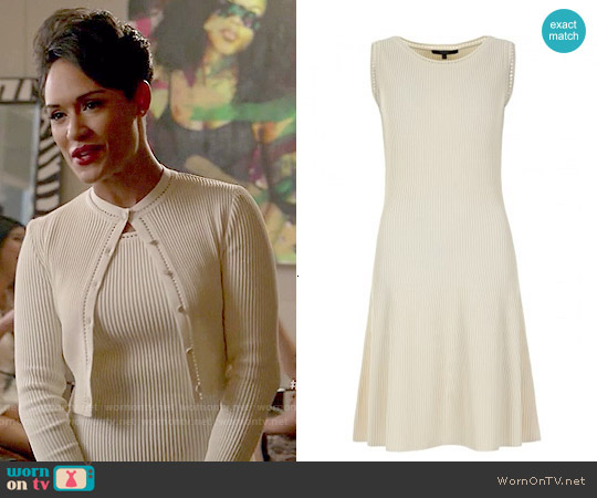 Gucci Ribbed Dress worn by Grace Gealey on Empire
