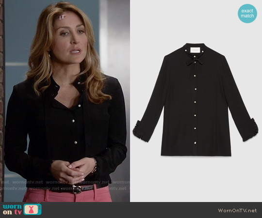 worn by Maura Isles (Sasha Alexander) on Rizzoli & Isles