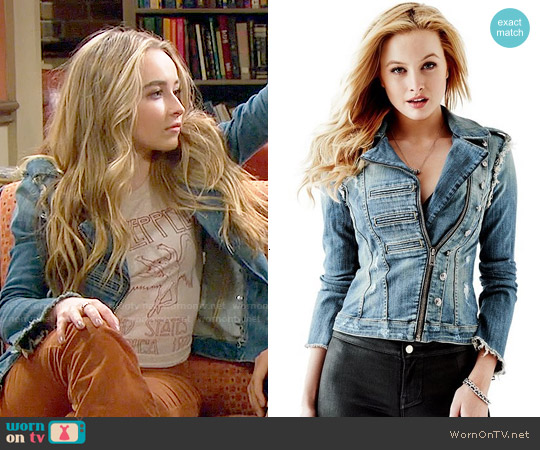 Guess Commando Denim Jacket worn by Maya Hart on Girl Meets World