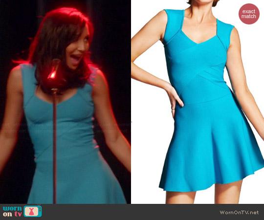 Guess Marciano Glenna Dress worn by Naya Rivera on Glee