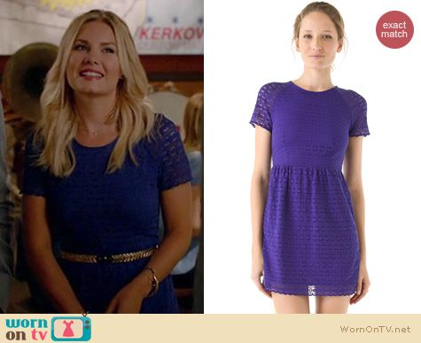 Happy Endings Fashion: Candy dress by Free People worn by Elisha Cuthbert