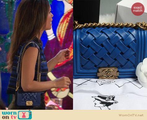 Hart of Dixie Bags: Chanel Woven Mini Purse worn by Rachel Bilson