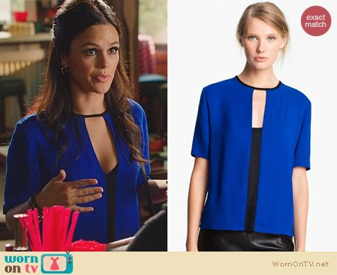 Hart of Dixie Fashion: ALC Ely Top worn by Rachel Bilson