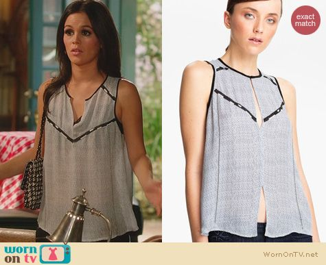 Hart of Dixie Fashion: ALC Hamilton Top worn by Rachel Bilson
