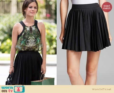 Hart of Dixie Fashion: Alice + Olivia Olette Skirt worn by Rachel Bilson
