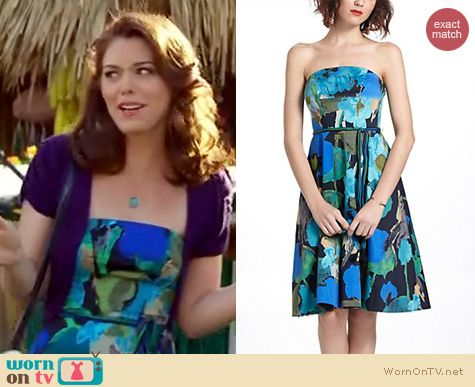 Hart of Dixie Fashion: Anthropologie Shadeflower dress worn by Kaitlyn Black