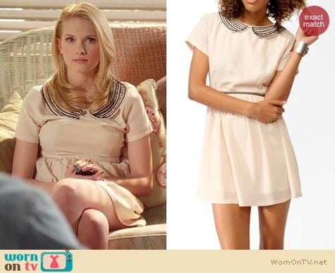 Hart of Dixie Fashion: Forever 21 Beaded collar dress worn by Claudia Lee