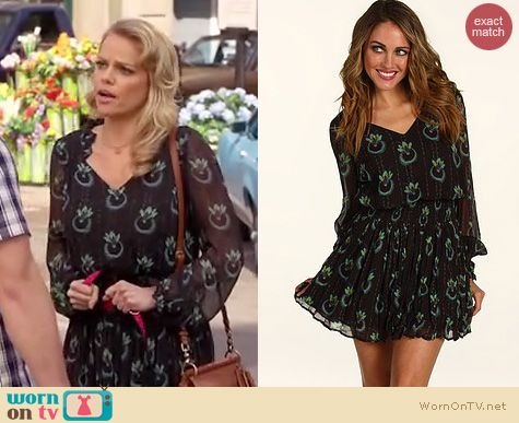 Hart of Dixie Fashion: Free People Wildflower dress worn by Tansy