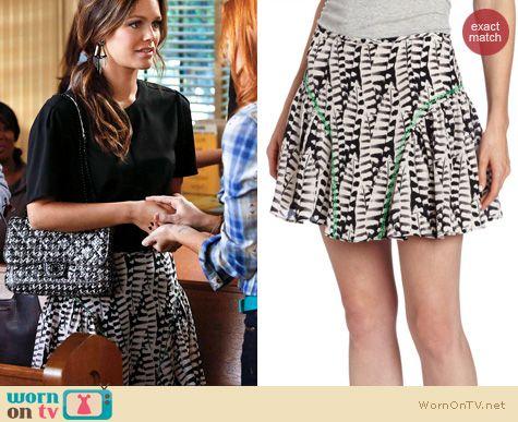 Hart of Dixie Fashion: Greylin Francine Skirt worn by Rachel Bilson