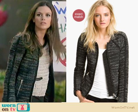 Hart of Dixie Fashion: IRO tweed jacket worn by Rachel Bilson