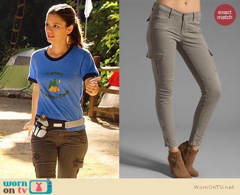 Fashion of Hart of Dixie: J Brand Grayson Cargo Pants worn by Rachel Bilson